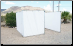 "10' x 20' SUKKAH KIT w/ OFFSET 4' DOOR OPENING for 1 3/8"" Pipe - Sukkot-Free Shipping"