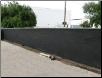 "8' x 50'   BLACK MESH SCREEN  SHADE  FENCE TARP ~Approx. 7'6"" x 49'6""  - FREE SHIPPING"