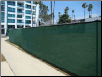 "8' x 50'  GREEN MESH SCREEN  SHADE  FENCE TARP ~Approx. 7'6"" x 49'6""  - FREE SHIPPING"
