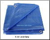 BLUE LIGHT WEIGHT 6ml  POLY TARPS