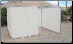 "10' x 20' TAN SUKKAH KIT w/ OFFSET 4' DOOR OPENING 1 3/8"" Fittings - Sukkot-Free Shipping"