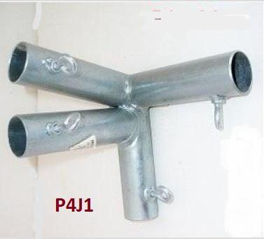 4 Way Edge Low Peak Support Canopy Fitting Left P4j1 1