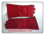 WELDING GLOVES ** Rough out Leather ** Large - FREE SHIPPING