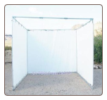 "10' x 10' SUKKAH KIT complete without pipe ~ 3/4"" fittings - Sukkot *Free Shipping*"