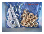 103 Pc GROMMET KIT - TARPS, CANOPIES, TENTS, AWNIINGS, POOL COVERS - FREE SHIPPING