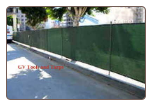 "6' x 50'  GREEN SCREEN MESH PRIVACY FENCE TARP~~Approx. 5'6"" x 49'6"""